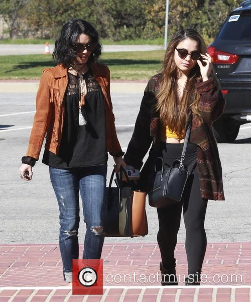 Vanessa Hudgens and Stella Hudgens 10