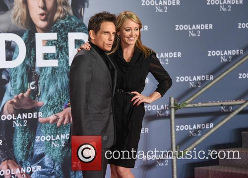 Ben Stiller and Christine Taylor 2