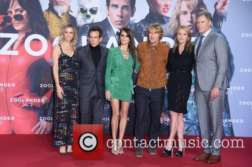 Kristen Wiig, Ben Stiller, Penelope Cruz, Owen Wilson, Christine Taylor and Will Ferrell 8