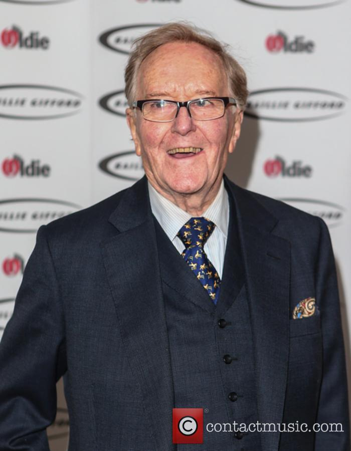 Robert Hardy at Oldie of the Year Awards