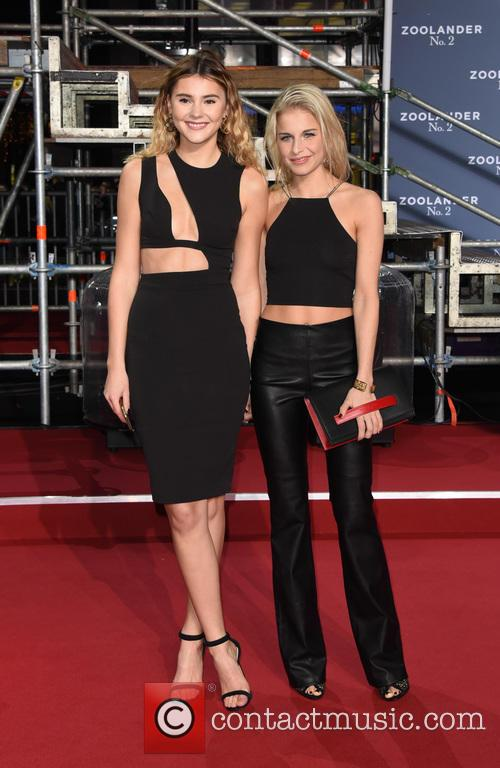 Stefanie Giesinger and Caro Daur 1