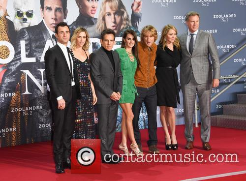 Justin Theroux, Kristen Wiig, Ben Stiller, Penelope Cruz, Owen Wilson, Christine Taylor and Will Ferrell 7