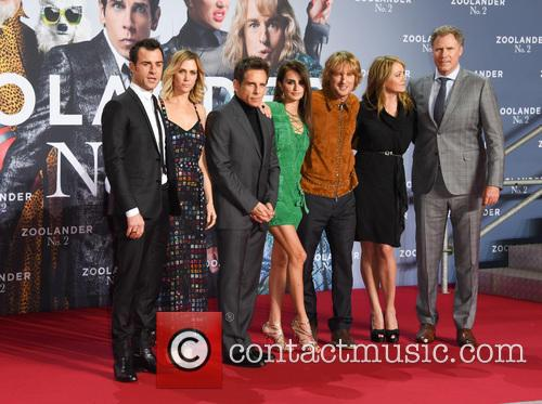 Justin Theroux, Kristen Wiig, Ben Stiller, Penelope Cruz, Owen Wilson, Christine Taylor and Will Ferrell 10