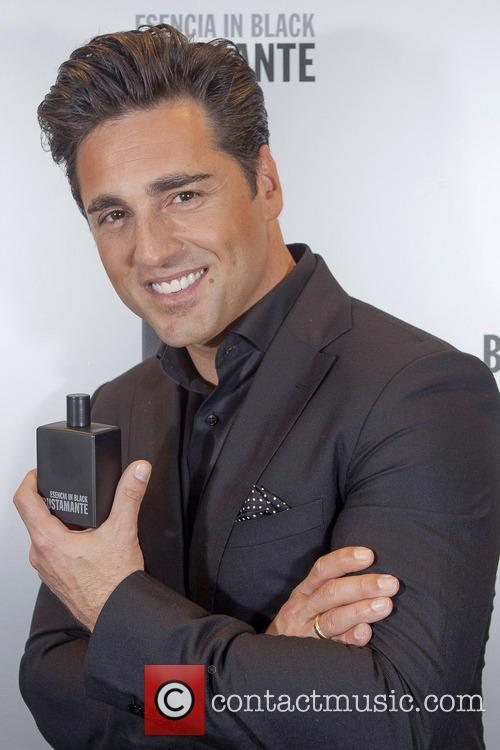 David Bustamante introduces his new fragrance 'Essence in...