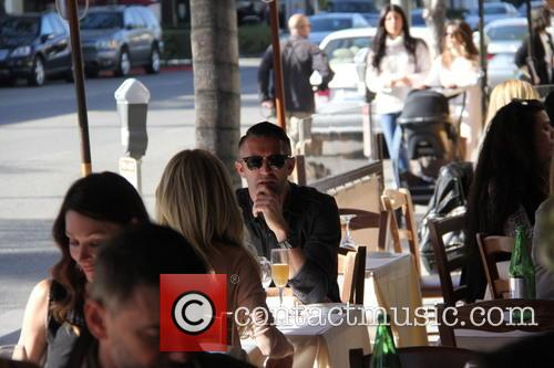 Robbie Keane has lunch at Il Pastaio with...