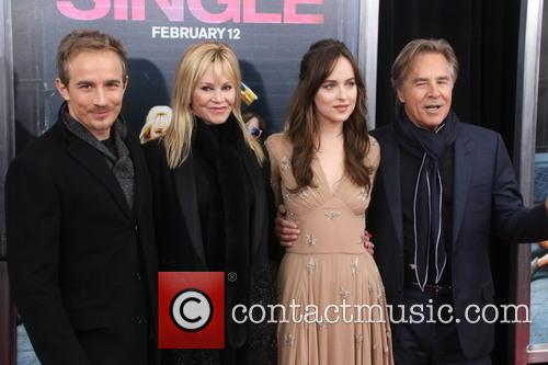 Jessie Johnson, Melanie Griffith, Dakota Johnson and Don Johnson 1