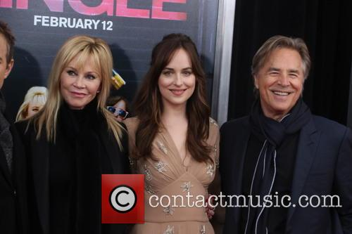 Melanie Griffith, Dakota Johnson and Don Johnson 1