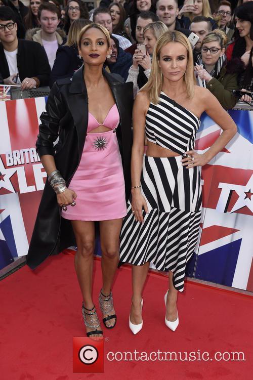Alesha Dixon and Amanda Holden 1