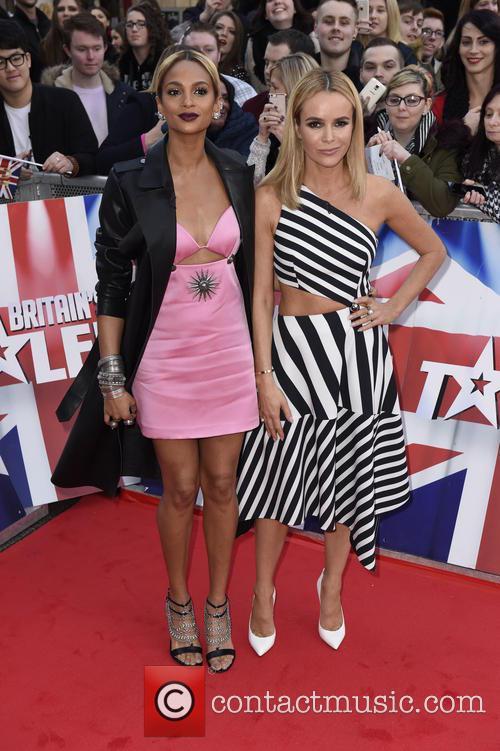 Alesha Dixon and Amanda Holden 2