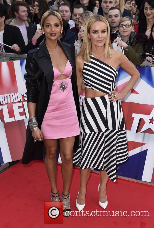 Alesha Dixon and Amanda Holden 3