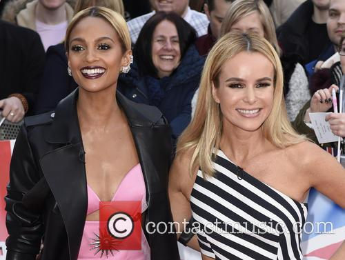 Alesha Dixon and Amanda Holden 11