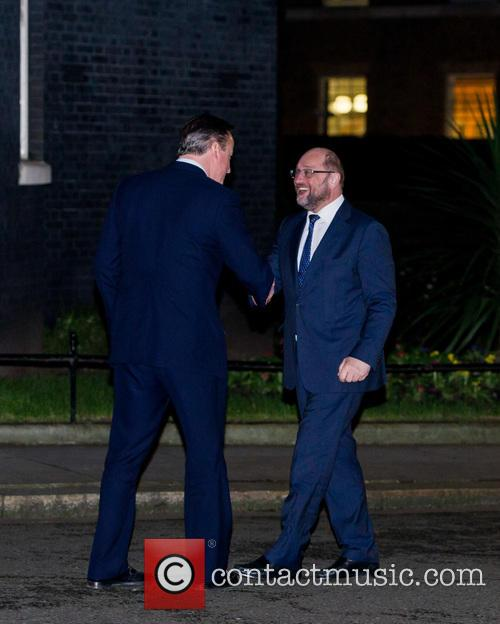 Prime Minister, David Cameron, President Of The European Union and Martin Shulz 3