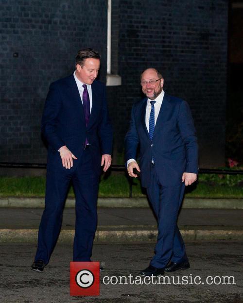 Prime Minister, David Cameron, President Of The European Union and Martin Shulz 4