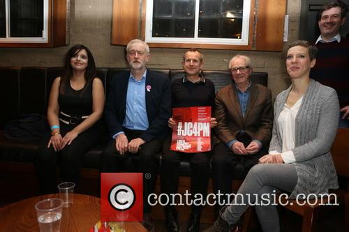 Jeremy Corbyn, Francesca Martinez and Jeremy Hardy