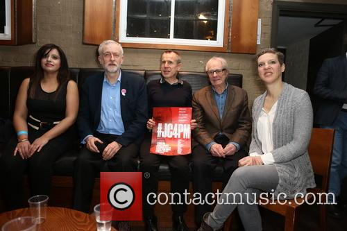 Jeremy Corbyn, Francesca Martinez and Jeremy Hardy