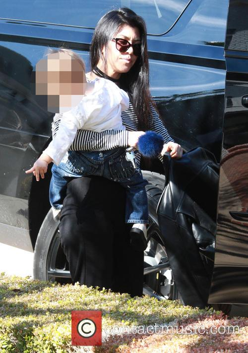 Kourtney Kardashian and Mason Dash Disick 10