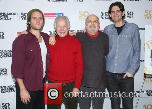 Steven Pasquale, Robert Waldman, Alfred Uhry and Alex Timbers 8