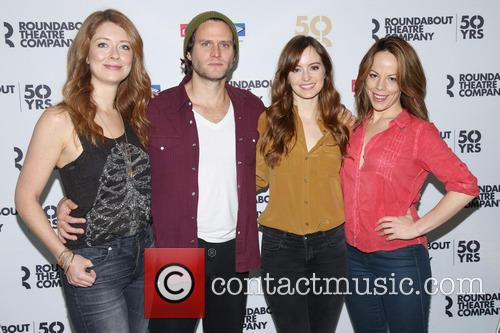 Nadia Quinn, Steven Pasquale, Ahna O'reilly and Leslie Kritzer 5