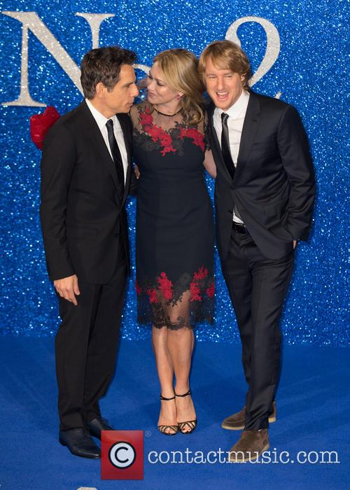 Ben Stiller, Owen Wilson and Christine Taylor 8