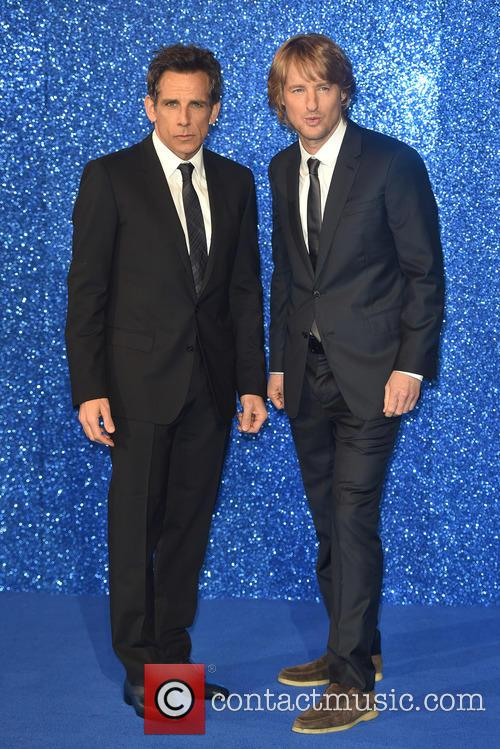 Ben Stiller And Owen Wilson Strike A Pose At 'Zoolander No 2' Premiere