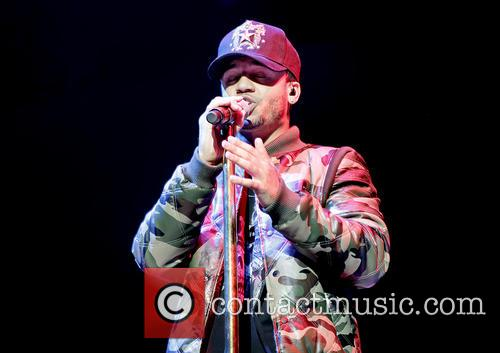 Aston Merrygold performs at the Manchester Arena