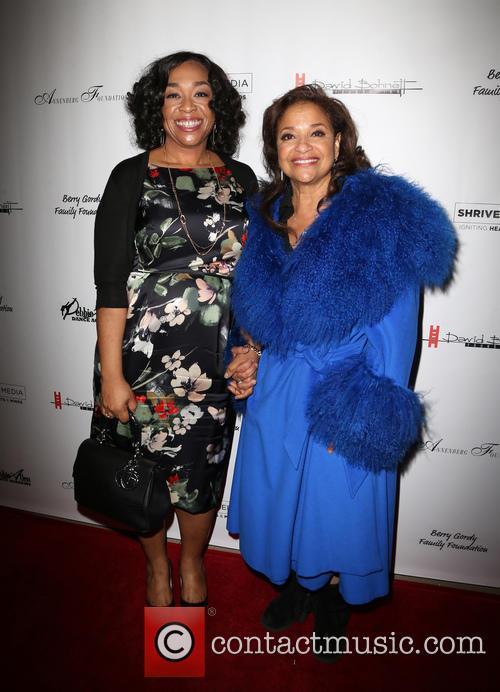 Shonda Rhimes and Debbie Allen 8