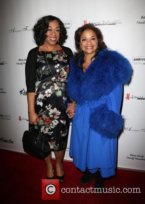 Shonda Rhimes and Debbie Allen 10