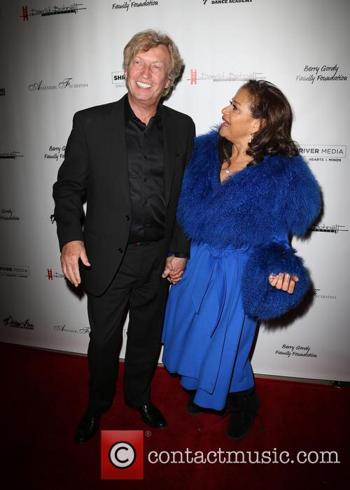 Nigel Lythgoe and Debbie Allen 1