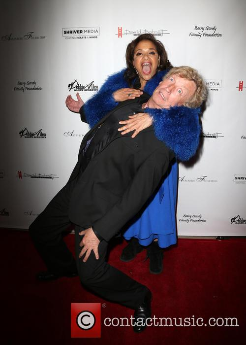 Nigel Lythgoe and Debbie Allen 7