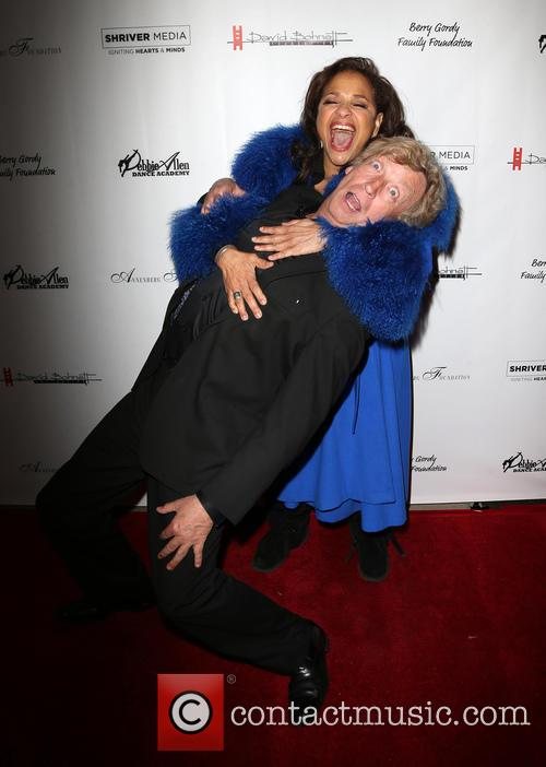 Nigel Lythgoe and Debbie Allen 8