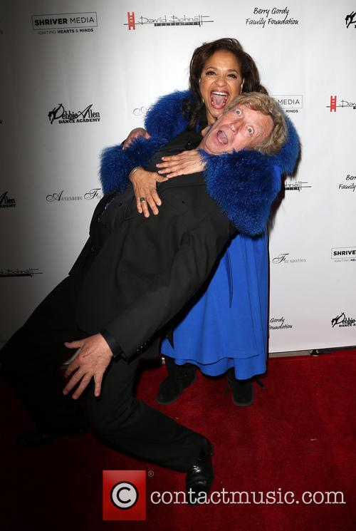 Nigel Lythgoe and Debbie Allen 9