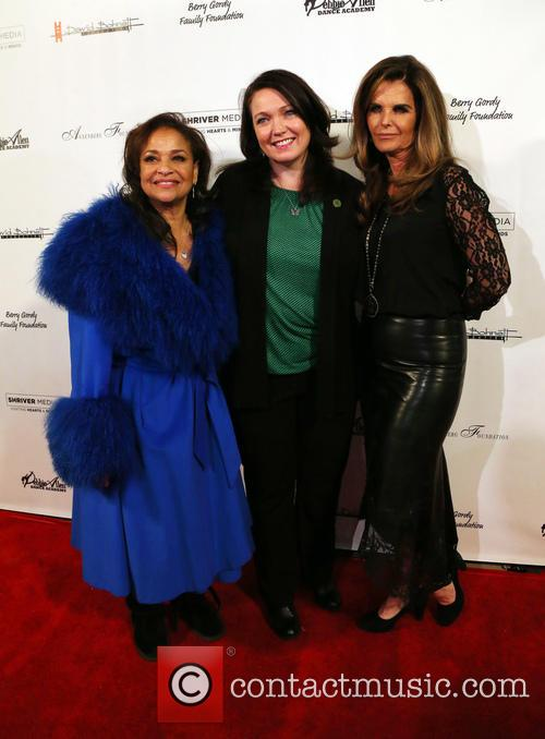 Debbie Allen, Maria Shriver and Guest 9