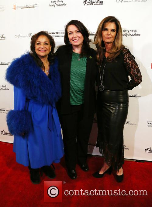 Debbie Allen, Maria Shriver and Guest 11