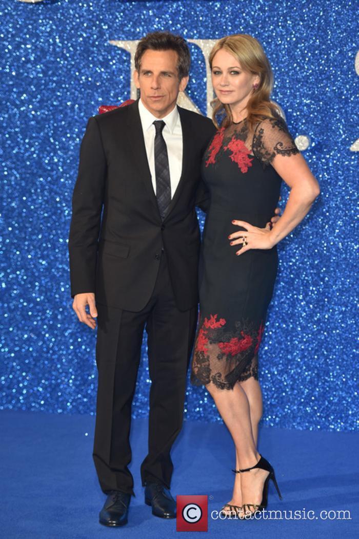 Ben Stiller and Christine Taylor at the 'Zoolander 2' premiere