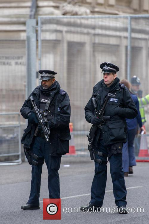 Armed Police Officers and View 1