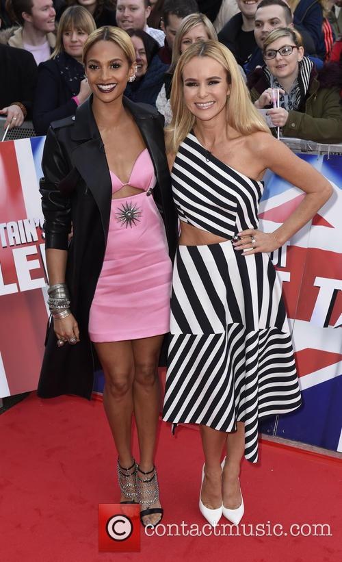 Alesha Dixon and Amanda Holden 5