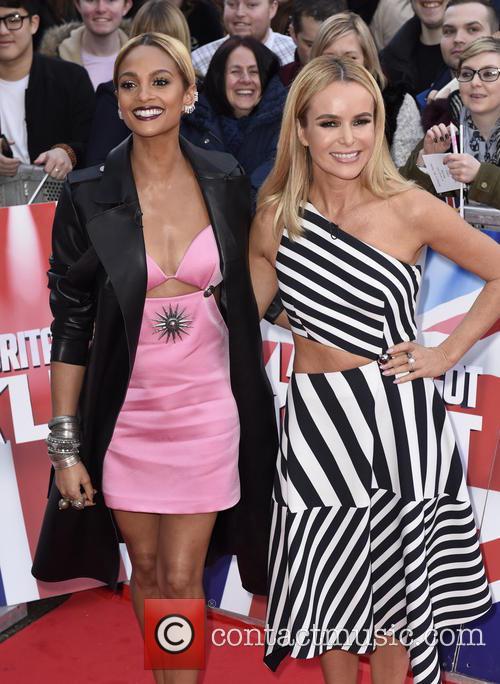 Alesha Dixon and Amanda Holden 6