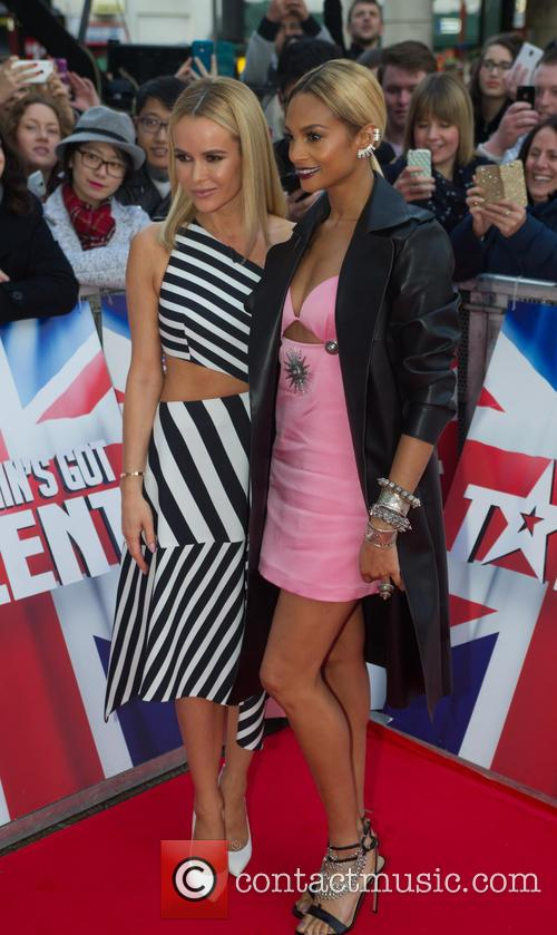 Amanda Holden and Alesha Dixon 7