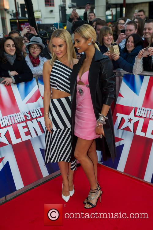 Amanda Holden and Alesha Dixon 6