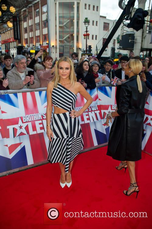 Amanda Holden and Alesha Dixon 7