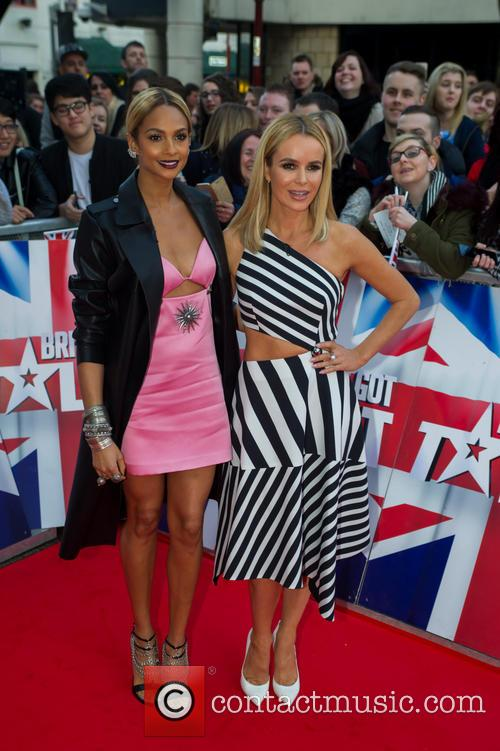 Amanda Holden and Alesha Dixon 9