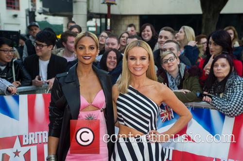 Amanda Holden and Alesha Dixon 10