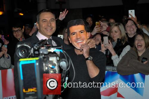 Simon Cowell and David Walliams 11