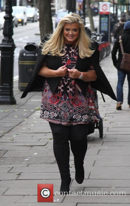 Gemma Collins seen out in West London
