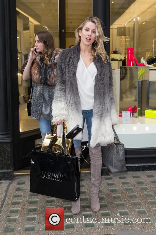 Caggie Dunlop and Rosie Fortescue 2
