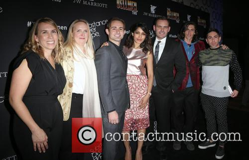 Christy Donato, Karin Timpone, Caine Sinclair, Freida Pinto, David Beebe, William Spencer and Daniel Malakai Cabrera 5
