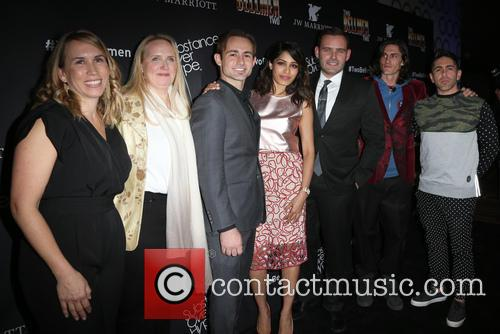 Christy Donato, Karin Timpone, Caine Sinclair, Freida Pinto, David Beebe, William Spencer and Daniel Malakai Cabrera 6