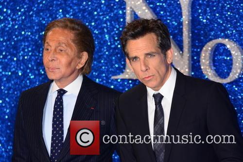 Valentino and Ben Stiller 1