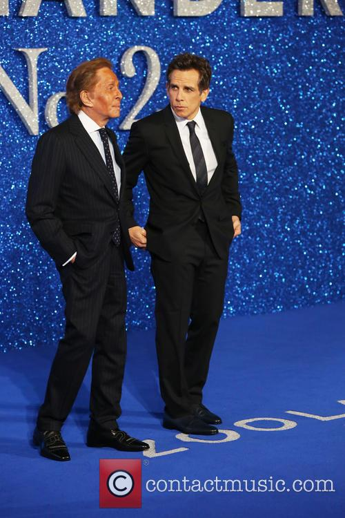 Valentino and Ben Stiller 3