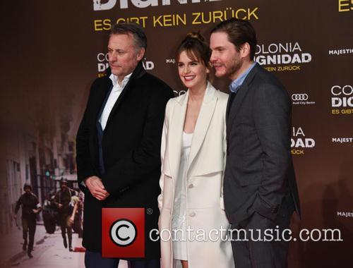 Emma Watson, Michael Nyqvist and Daniel Bruehl 3